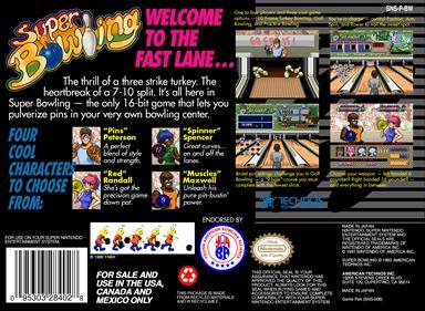 Super Bowling - Box - Back