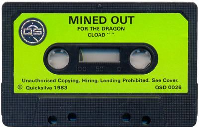 Mined Out - Cart - Front