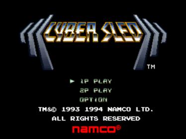 Cybersled - Screenshot - Game Title