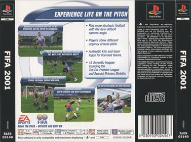FIFA 2001: Major League Soccer - Box - Back