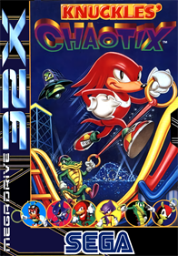 Knuckles' Chaotix - Box - Front