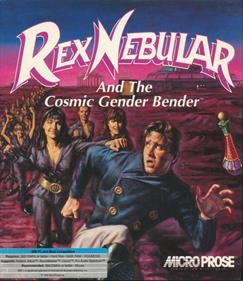 Rex Nebular and the Cosmic Gender Bender - Box - Front