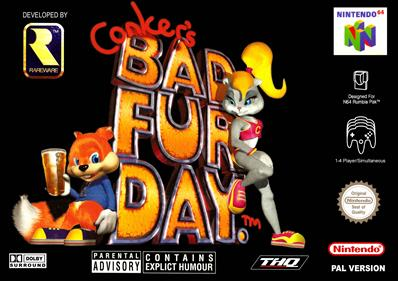 Conker's Bad Fur Day - Box - Front