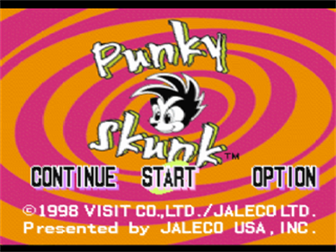 Punky Skunk - Screenshot - Game Title