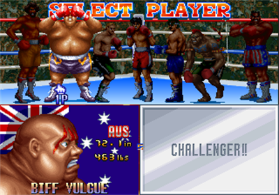 Best Bout Boxing - Screenshot - Game Select