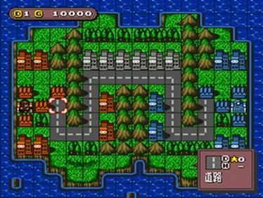 Super Famicom Wars - Screenshot - Gameplay