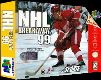 NHL Breakaway 99 - Box - 3D