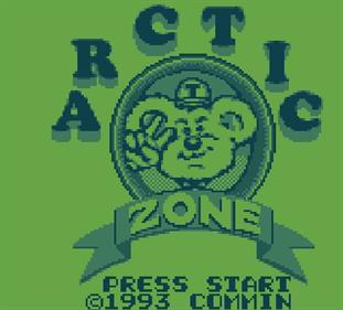 Artic Zone - Screenshot - Game Title