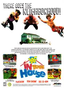 WWF In Your House - Advertisement Flyer - Front