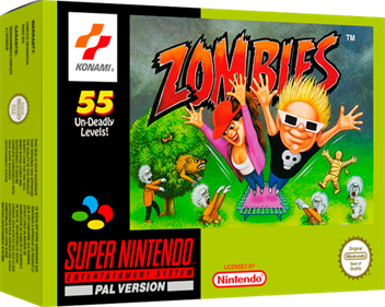 Zombies Ate My Neighbors - Box - 3D