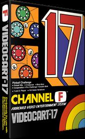 Videocart-17: Pinball Challenge - Box - 3D