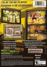 FIFA Street 2 - Box - Back