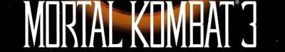Mortal Kombat 3 - Banner