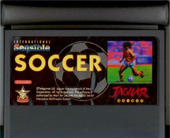 International Sensible Soccer - Cart - Front