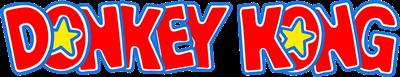 Donkey Kong - Clear Logo