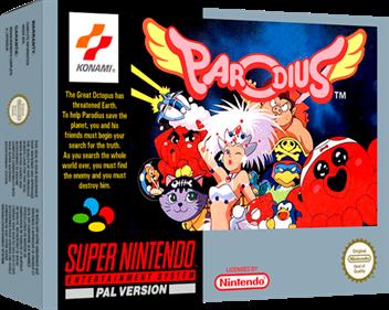 Parodius - Box - 3D