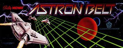 Astron Belt - Arcade - Marquee