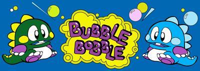 Bubble Bobble - Arcade - Marquee