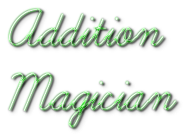 Addition Magician - Clear Logo