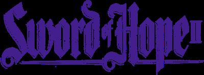 The Sword of Hope II - Clear Logo