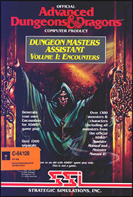 Advanced Dungeons & Dragons: Dungeon Masters Assistant: Volume I: Encounters