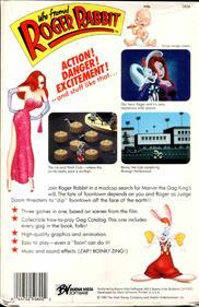 Who Framed Roger Rabbit - Box - Back