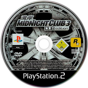 Midnight Club 3: DUB Edition - Disc
