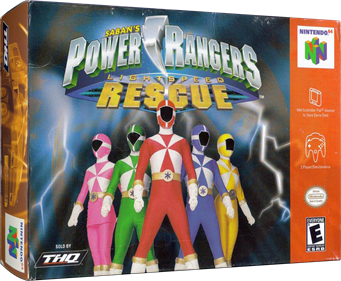 Power Rangers: Lightspeed Rescue - Box - 3D