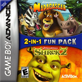 2-in-1 Fun Pack - Shrek 2 + Madagascar