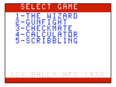 The Incredible Wizard - Screenshot - Game Title