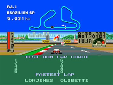 F1 Triple Battle - Screenshot - Gameplay