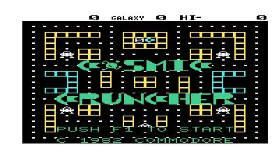 Cosmic Cruncher - Screenshot - Game Title