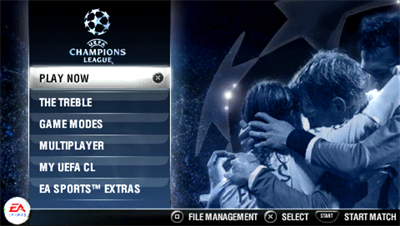 UEFA Champions League 2006-2007 - Screenshot - Game Select