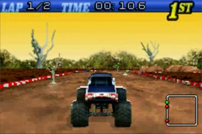2 Games In 1 Double Value!: Monster Trucks / Quad Desert Fury - Screenshot - Gameplay