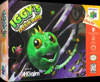 Iggy's Reckin' Balls - Box - 3D
