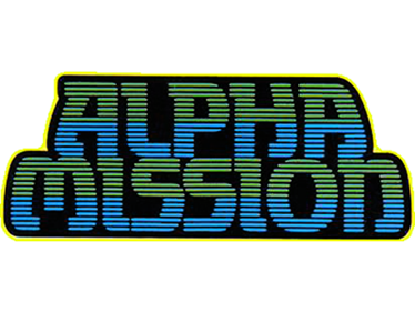 Alpha Mission - Clear Logo