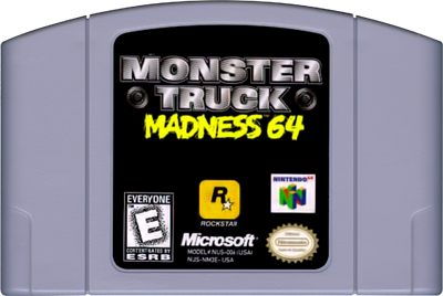 Monster Truck Madness 64 - Cart - Front