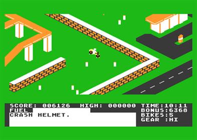 Action Biker - Screenshot - Gameplay