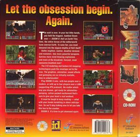 DOOM II: Hell on Earth - Box - Back