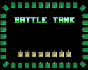 Battle Tank - Screenshot - Game Title