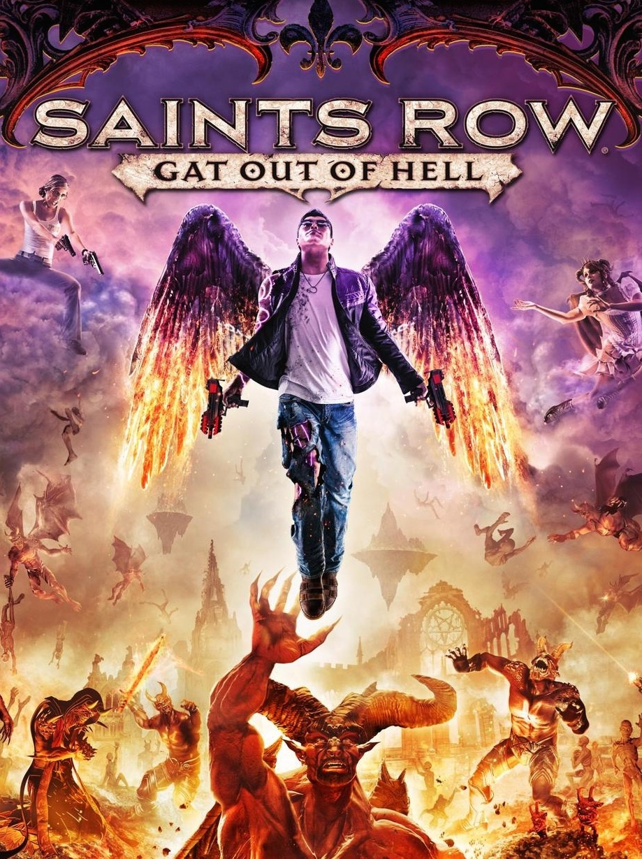 Saints Row Gat Out Of Hell Details Launchbox Games Database
