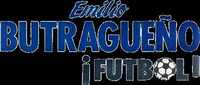 Emilio Butragueno Futbol - Clear Logo
