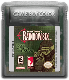 Tom Clancy's Rainbow Six - Fanart - Cart - Front