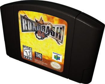 Road Rash 64 - Cart - 3D