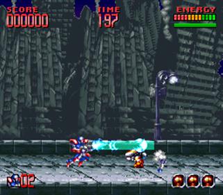 Super Turrican 2 - Screenshot - Gameplay