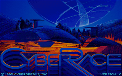 CyberRace - Screenshot - Game Title