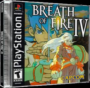 Breath of Fire IV - Box - 3D