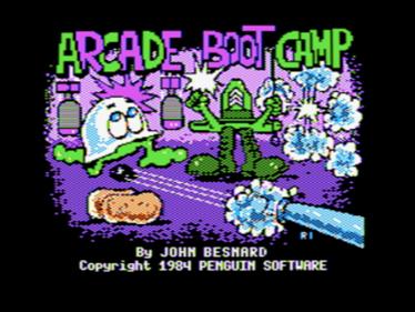 Arcade Boot Camp - Screenshot - Game Title