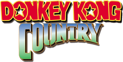 Donkey Kong Country - Clear Logo