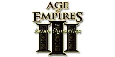 Age of Empires III: The Asian Dynasties - Clear Logo